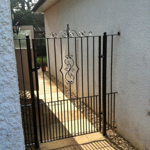 Tall Wrought Iron Gates
