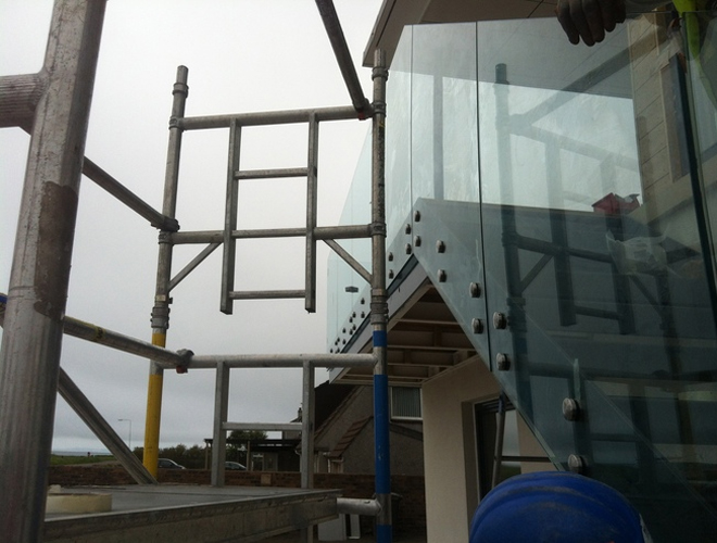 Glass Balustrades Glenrothes